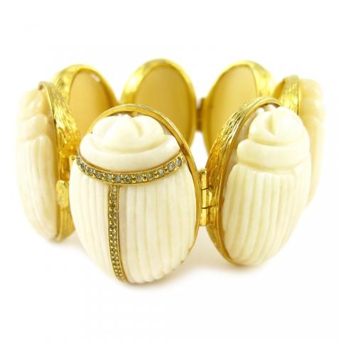 K. Brunini Bone Bracelets