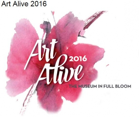 Art Alive, The San Diego Museum of Art, Flowers, Bloom, Kbrunini