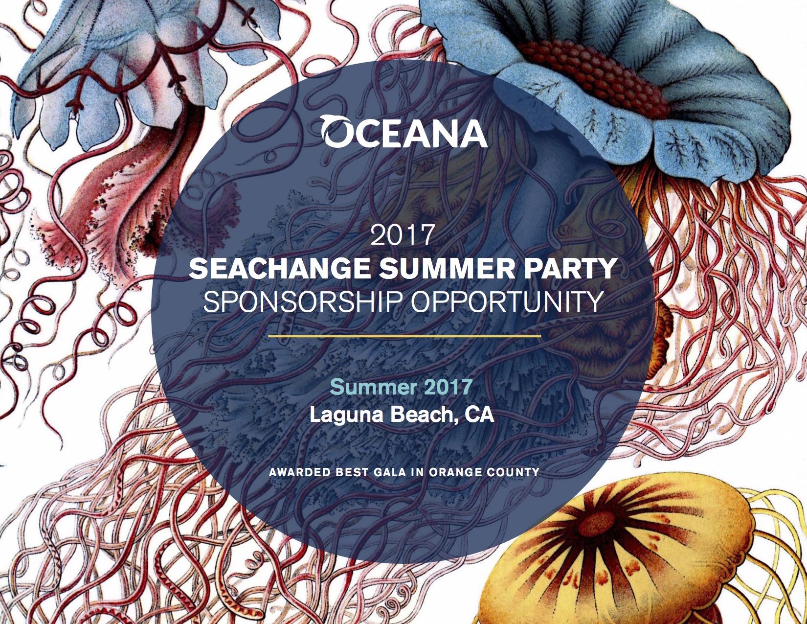 OCEANA SeaChange 2017 Sponsor Deck 3.29