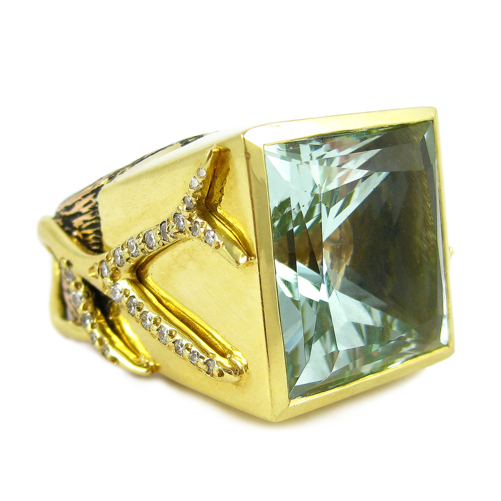K Brunini Jewels Objects Organique Ring Fine Jewelery