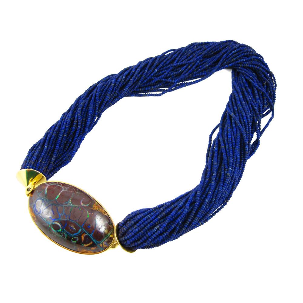 K Brunini Skipping Stones Necklace Stanley Korshak