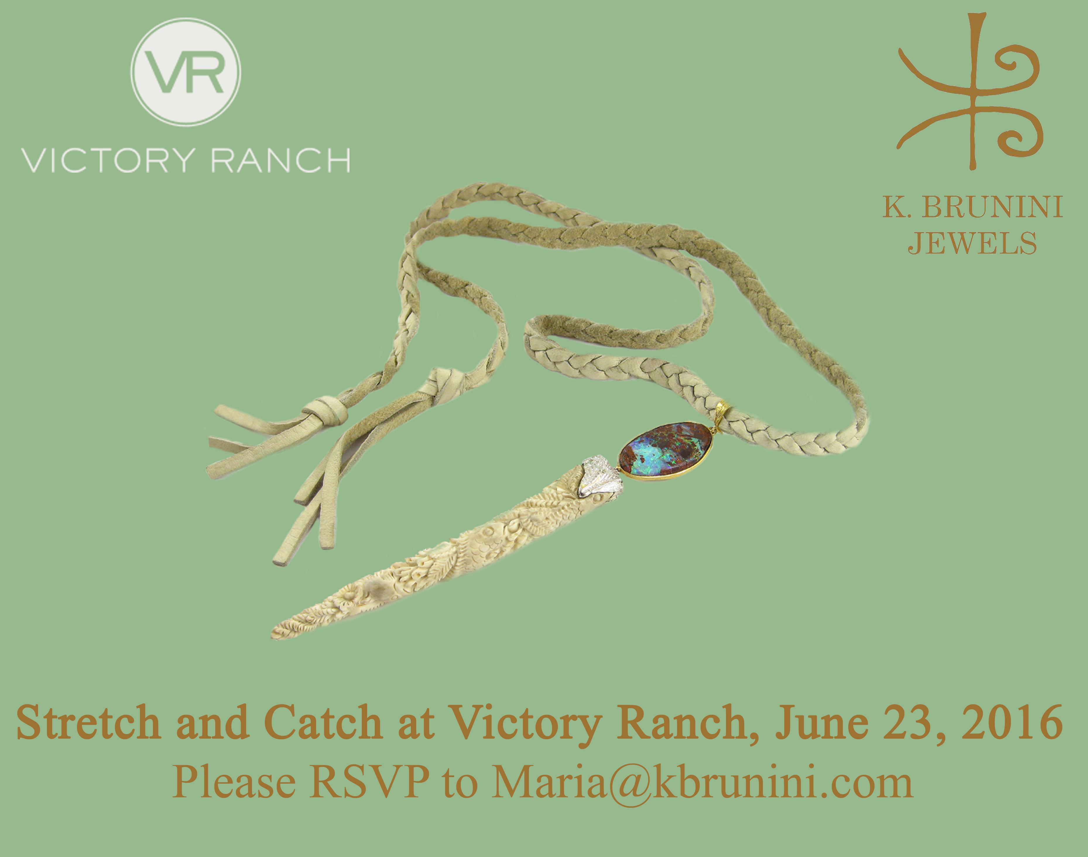 K Brunini, Victory Ranch, Jewelry, Park City, Utah