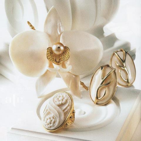 Handmade designer organic jewelry
