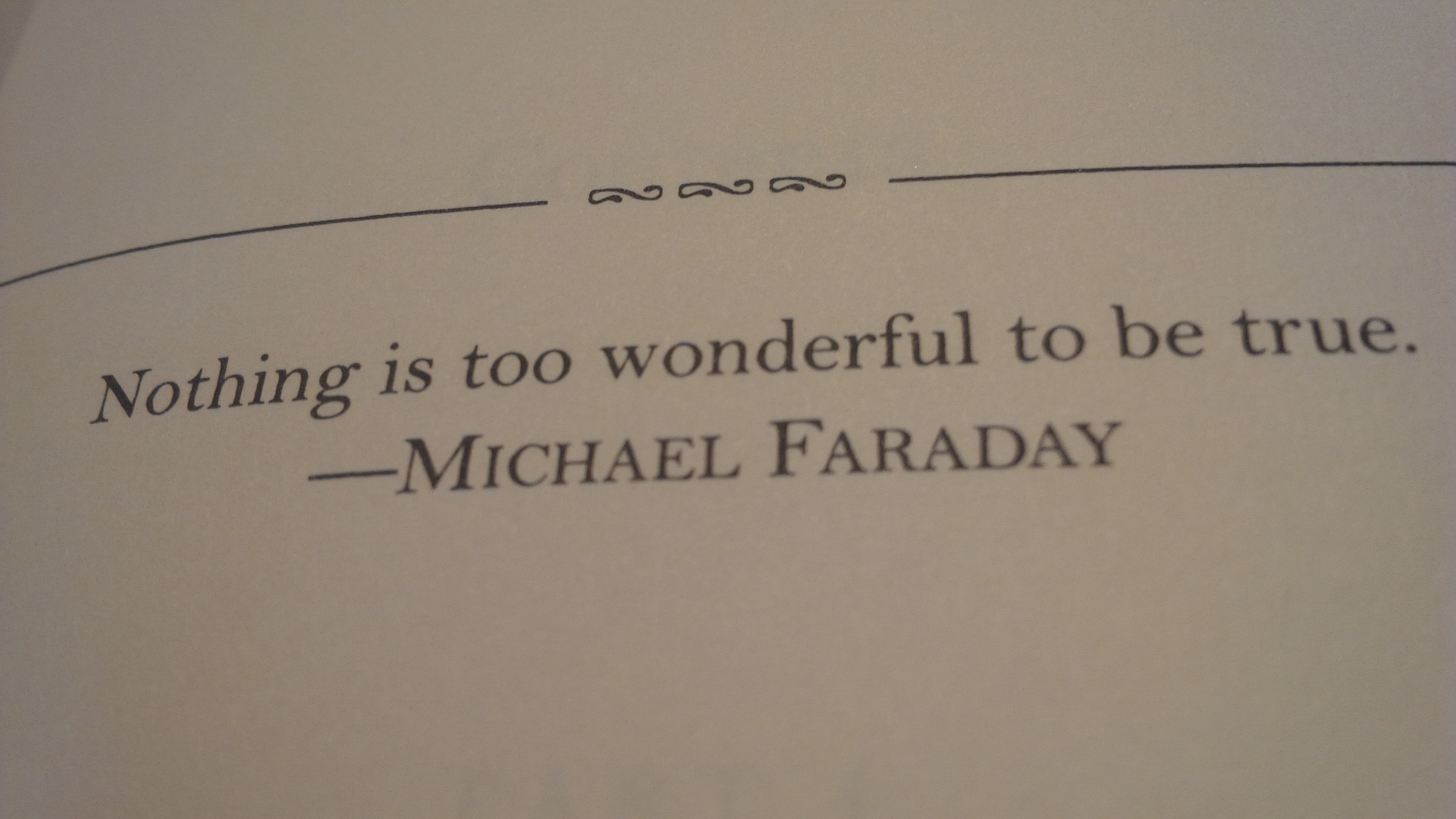 KBrunini, Michael Faraday, Martin Luther King, Michael Faraday, Wisdom