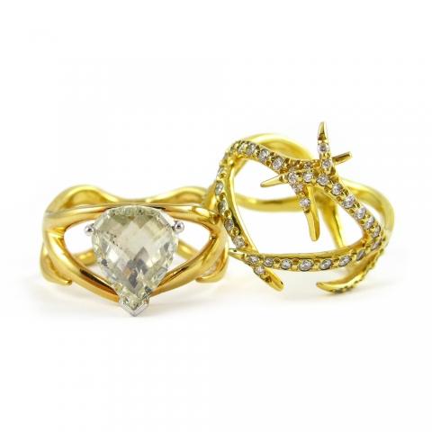 Alternative Organic Bridal Jewelry