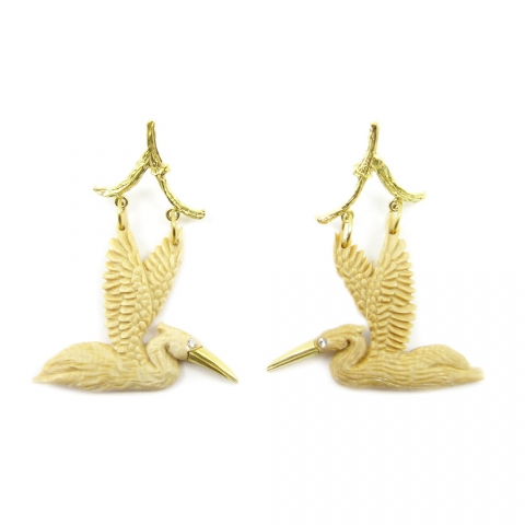 KBrunini Spirit Animals Earrings Stanley Korhsark