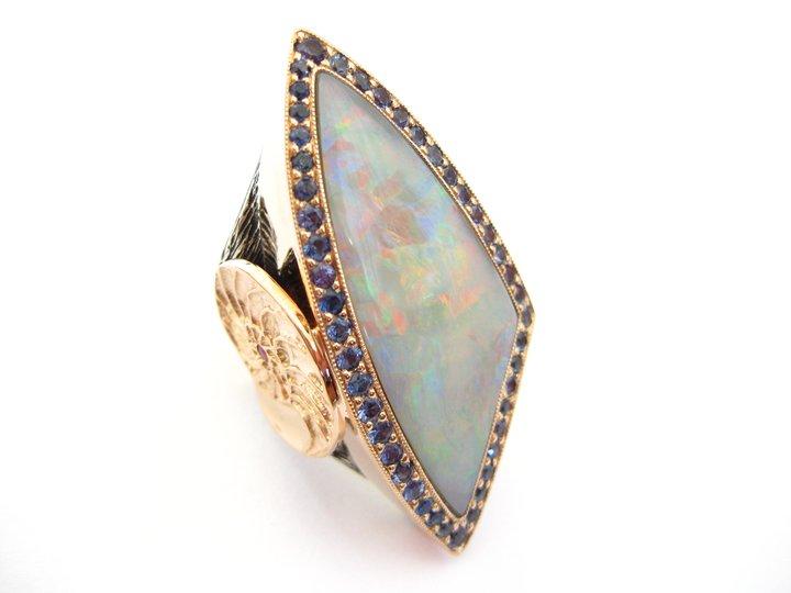 Fine organic jewelry designer