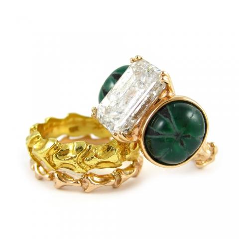 Organic Bridal jewelry