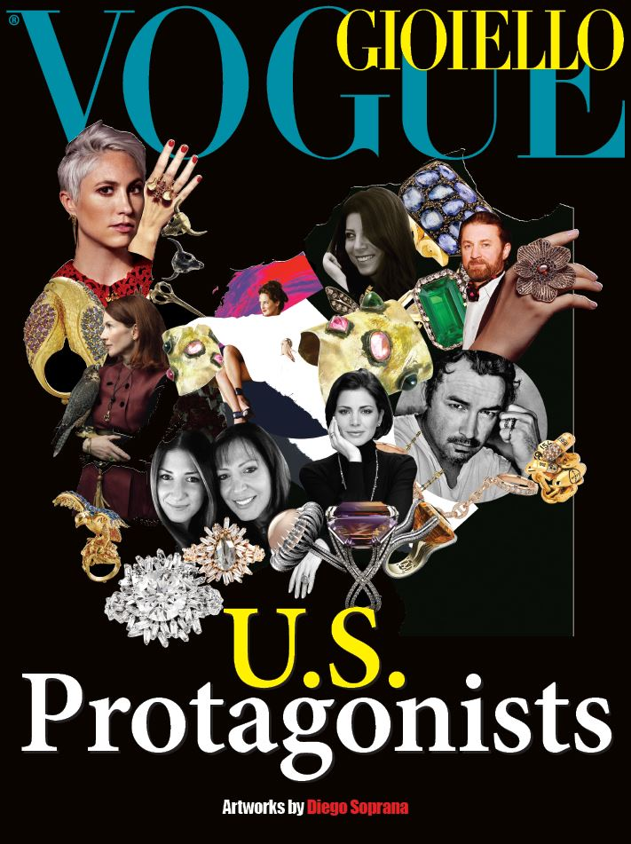 KBrunini, Vogue Gioiello, US Protagonists, Couture, Designer Jewelry